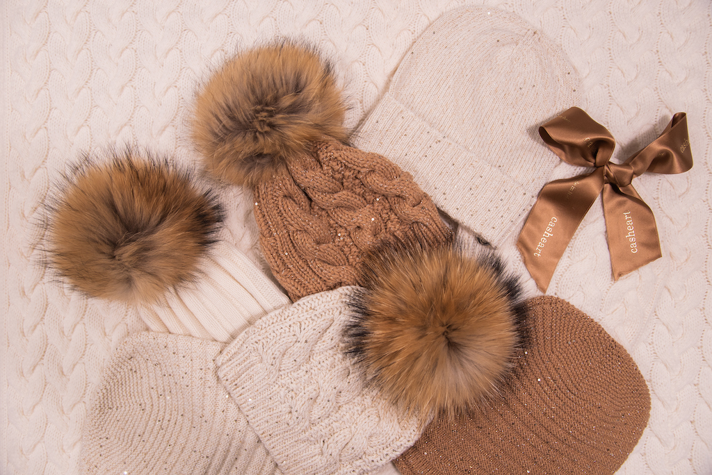 Casheart - women's cashmere hat collection